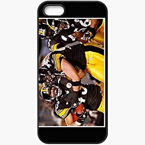 Personalized iPhone 5 5S Cell phone Case/Cover Skin 1190 pittsburgh steelers 0 Black