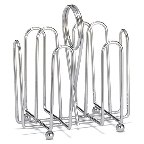 - Tablecraft 597C Chrome Plated Jelly Packet Rack