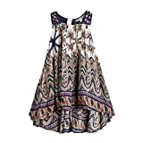 childdkivy Baby Girls Summer Dress Bohemian Fashion Clothes (8(7-8year), Bohemian)