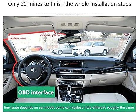 CYHY Hidden Car Dash Cam Car DVR for BMW 1, 3,5, 7, X5, X6 Serial  (2010-2017) - 170 Wide Angle, Full
