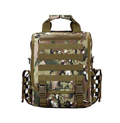 Mimetico Zaino Sopravvivenza Impermeabile Deport Trekking Nylon Wanyang Campeggio Militare Colori qwz0Ew7F