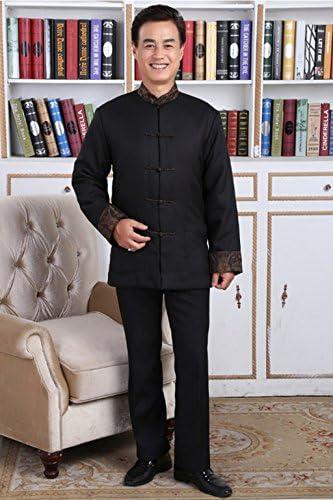 Amazon.com: 100% Seda de Morera Tang trajes chino chaquetas ...