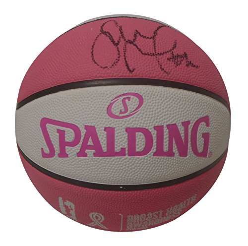 fan products of Seattle Storm Sue Bird Autographed Hand Signed Pink WNBA Spalding Basketball with Proof Photo of Signing, Connecticut Huskies, Dynamo Moscow, Spartak, COA