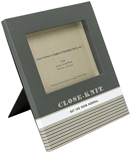 UPC 082272968424, C.R. Gibson Close-Knit Family Humor Tabletop Photo Frame, 4 by 6-Inch