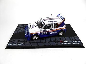 Atlas 1/43 MG Metro 6R4 RAC Rally Rally Car 1986 McRae: Amazon.es: Juguetes y juegos