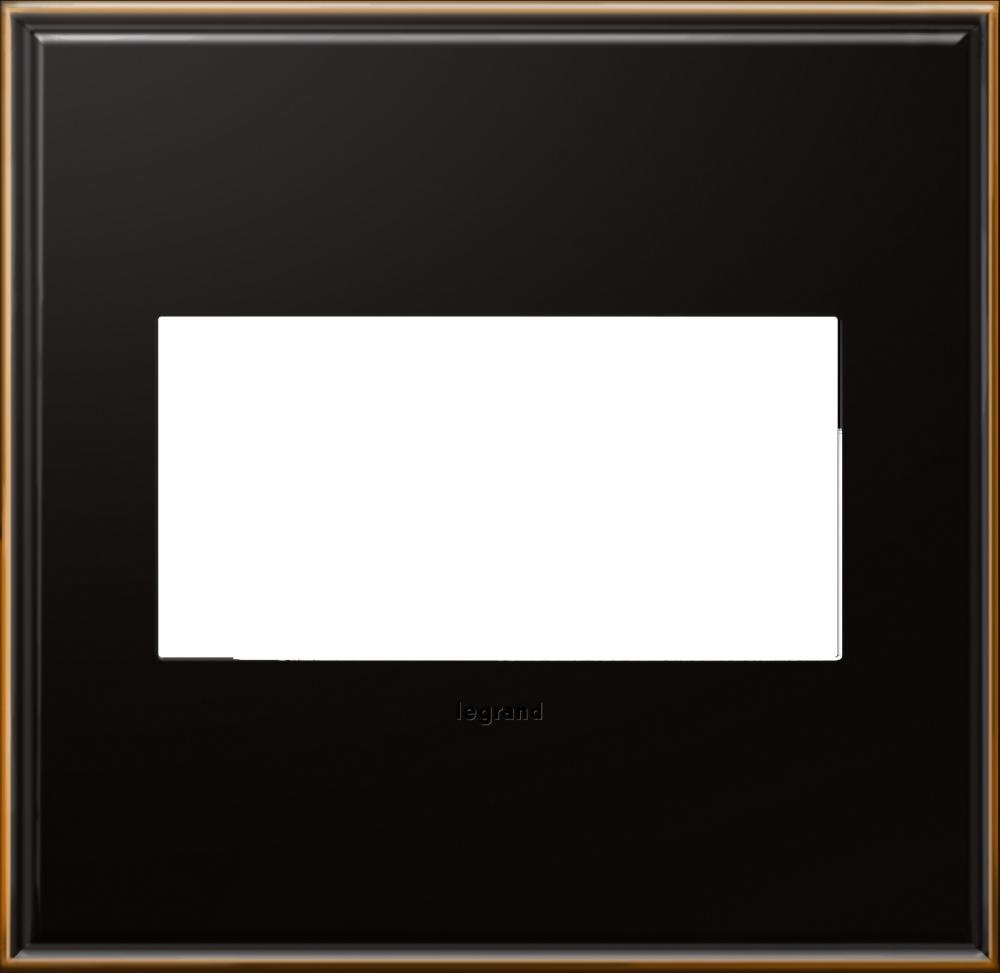 adorne 2-Gang Oil-Rubbed Bronze Wall Plate