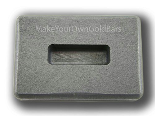 1/2 oz Gold High Density Graphite Ingot Mold 1/4 oz Silver KitKat Bar-Copper Made in the USA