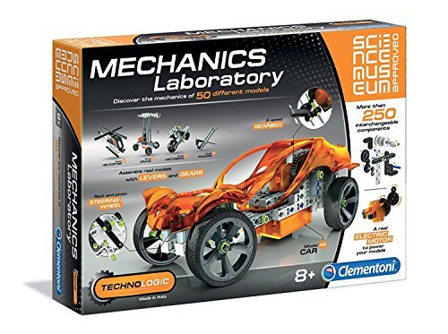 SCIENCE MUSUEM Clementoni Mechanics Laboratory Lab – Science & Play Toys