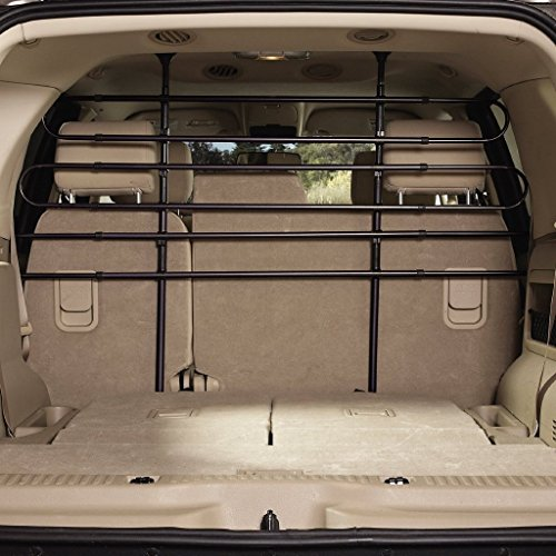 EXPAWLORER Vehicle Pet Barrier for SUV Dog Car Guard Black