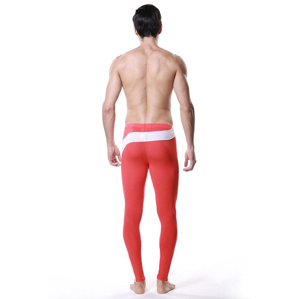 DESMIIT Mens Long Underwear Modal