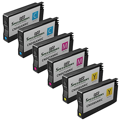 Speedy Inks Remanufactured Ink Cartridge Replacement for HP 950 ( Cyan - Magenta - Yellow - 6-Pack )