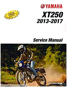 lit 11616 26 08 2013 2018 yamaha xt250 motorcycle service manual rh amazon com yamaha xt 250 owners manual yamaha xt 250 service manual pdf