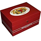 Illustrious Collection - Romeo Y Julieta - Romeo & Juliet Cigar Humidor - 100 Cigars - Limited Edition (13 1/2 X 9 1/2 X 61/2)