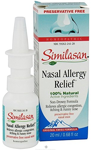Similasan Nasal Allergy Relief - 0.68 fl oz(Pack of 3)