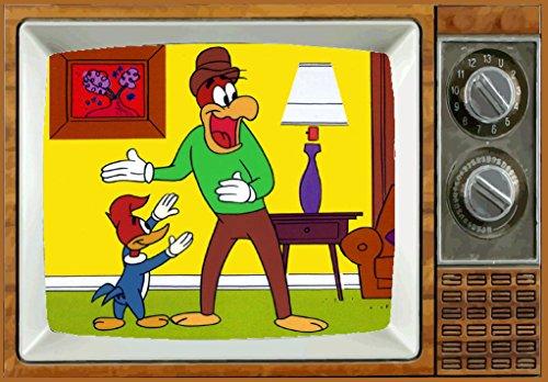 WOODY WOODPECKER TV Fridge MAGNET 2