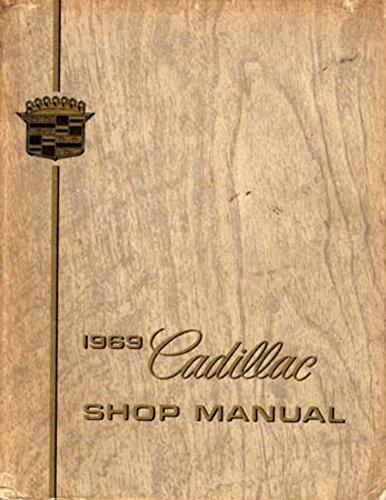 bishko automotive literature 1969 Cadillac Deville Eldorado Fleetwood Shop Service Repair Engine Drivetrain