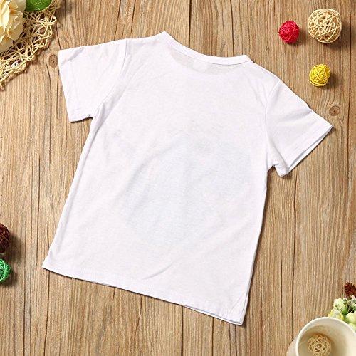 bab4077bf Caliente de la venta QUICKLYLY 2pcs Camiseta Manga Corta Conjuntos de Top y  Pantalones cortos para Recién Nacido Bebé Niña Niño Verano Dinosaurios ...
