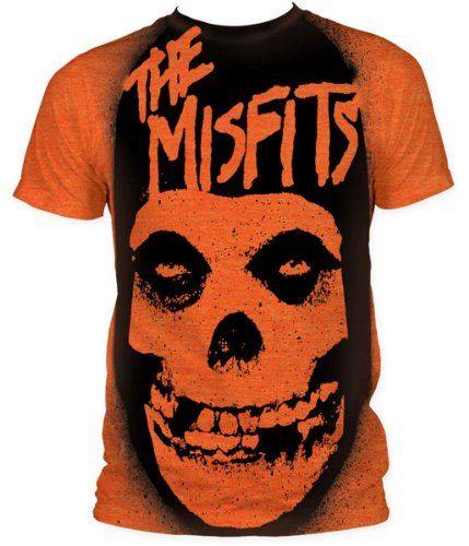 Misfits Band Shirt - Misfits - Stencil (slim fit) T-Shirt Size XXL