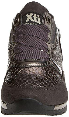 XTI 047259, Zapatillas Para Mujer Gris (Gris)