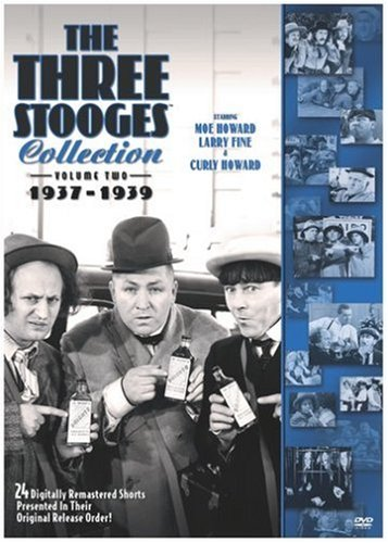 Three Stooges Collection, the - 1937-1939 Bobby Burns Larry Fine Curly Howard Moe Howard