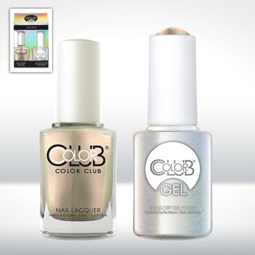 Color Club Gel SUGAR RAYS Metallic Color Club Gel + Lacquer