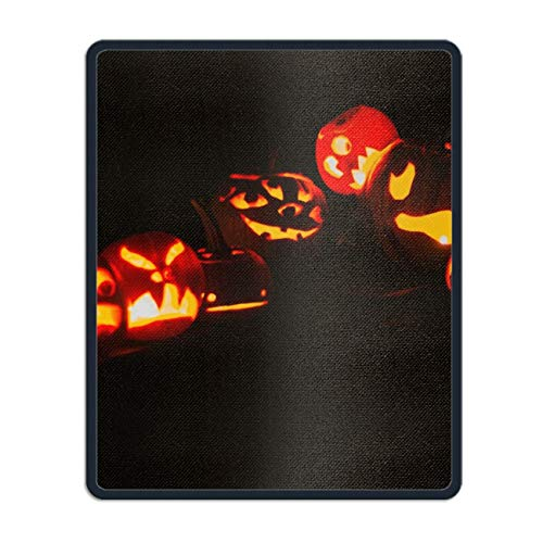 Halloween Pumpkin Gaming Mouse Pad,Mouse Pad Unique Printed Mousepad 11.8 x 9.8 inch ()
