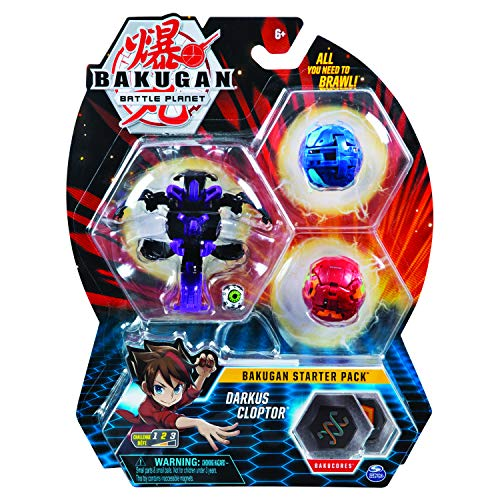 BAKUGAN 6045144 Starter Pack Set Assortment Styles May Vary-One Supplied