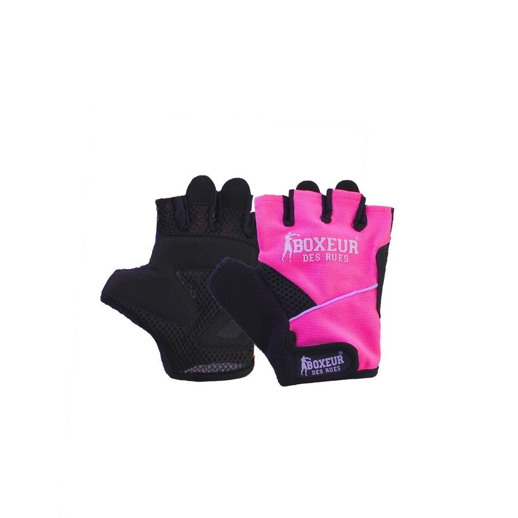 BOXEUR DES RUES Fight Activewear, Guanti da Fitness E Sollevamento Pesi Unisex Adulto BXT-5143