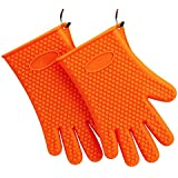 Professional Silicone Oven Mitt - 1 Pair - Multifunction Oven Mitts