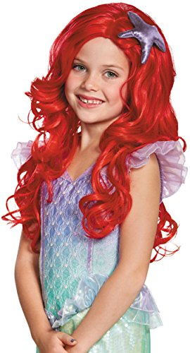 Ariel Ultra Prestige Child Disney Princess The Little Mermaid Wig, One Size Child (Ariel Wig Child)