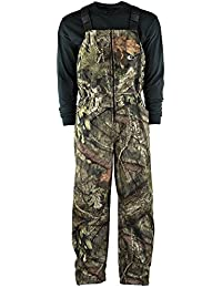 Youth Camo Sherpa Lined Hunting Bibs in Break-Up Country