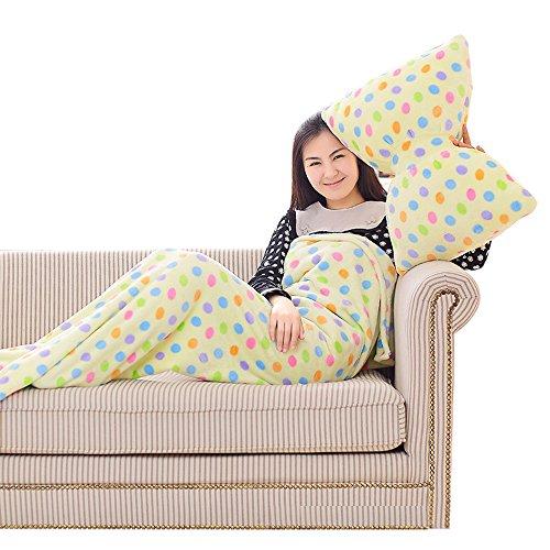 Yaheeda Mermaid Tail Blanket Soft Flannel