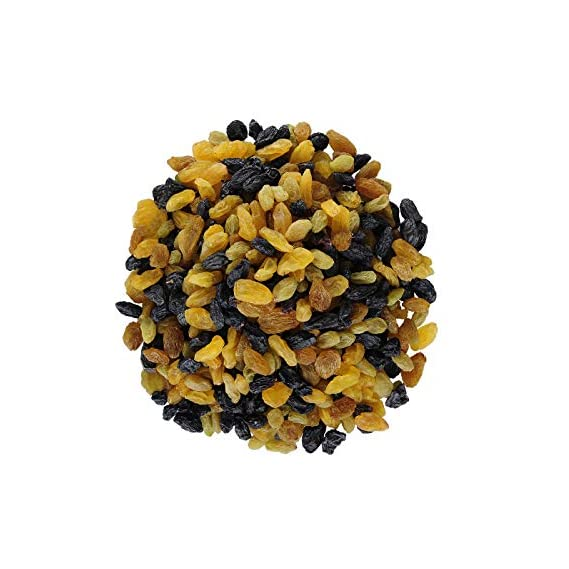 Berries And Nuts Healthy Raisins Blast | Mixed Black, Yellow, Green & Afghani Kishmish Combo | Raisin Mix 150 Grams