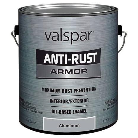 Valspar 21842G Semi-Gloss Black Enamel - 1 Gallon