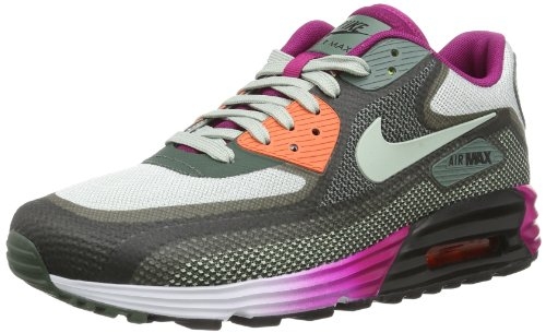 Nike Women's Wmns Air Max Lunar90 C3.0, BLACK/S SPRAY-DARK MICA GREEN-BRIGHT MAGENTA, 11.5 US For Sale