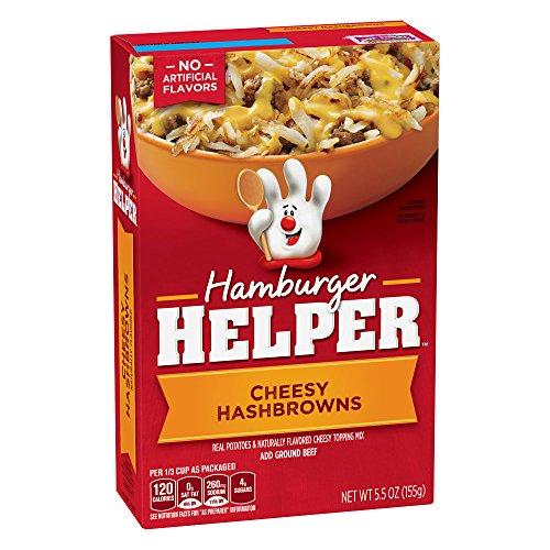 Crocker Hamburger Helper Cheesy Hashbrowns