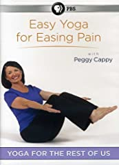Peggy Cappy provides a path to relieving aches and pains. The yoga routine in Easy Yoga for Easing Pain, demonstrates yoga movements that can increase flexibility, reduce joint pain, combat fatigue and enhance overall well-being.