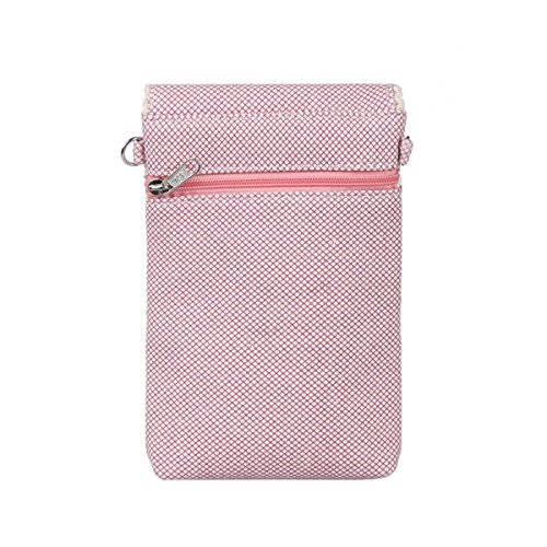 with Versatile Floral Print Womens Pink Grey Holder Cellphone Damara B6nvx