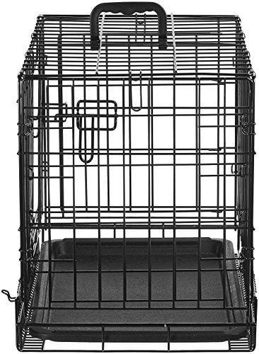 AmazonBasics Folding Metal Dog Crate 5