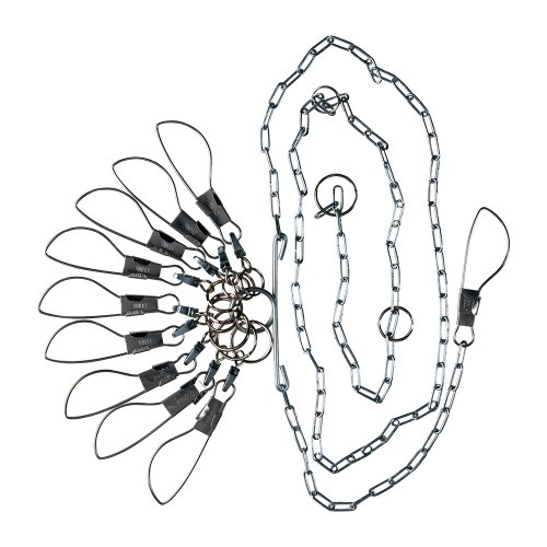 (Lindy Chain Stringers - 9 Swiveled Moveable Snaps)