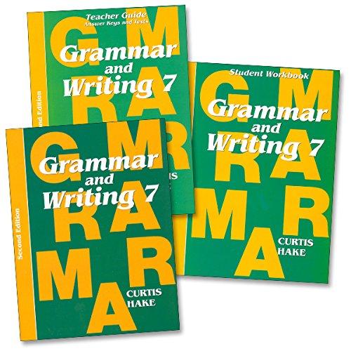 Saxon Grammar & Writing 2nd Edition Grade 7 Complete Homeschool Kit