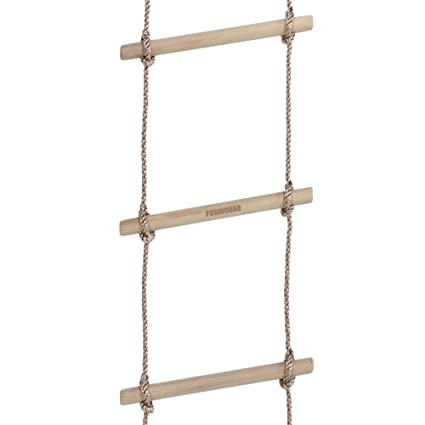 Fatmoose Knitting Ladder Easyup Rope Ladder With 4 Rungs