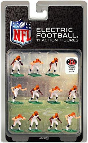 Cincinnati BengalsWhite Uniform NFL Action Figure Set