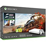 Microsoft Limited Edition White Xbox One X 1TB Forza Horizon 4 and Motorsport 7 Bundle (Certified Refurbished)