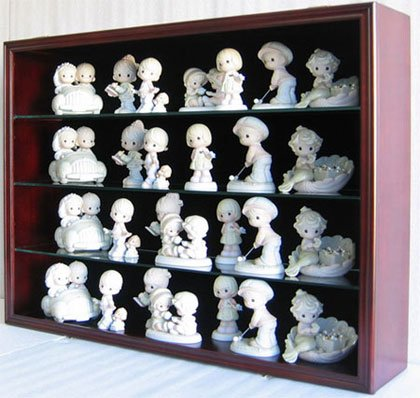 Amazoncom Collectible Display Case Wall Shelves Wall Curio - Display shelves collectibles wall shelves for collectibles display