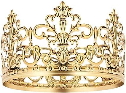 12.7x9.4 cm decoraci/ón de corona de princesa colgante de corona de princesa Juego de 10 corona de princesa de madera para manualidades y decoraci/ón corona de princesa en blanco