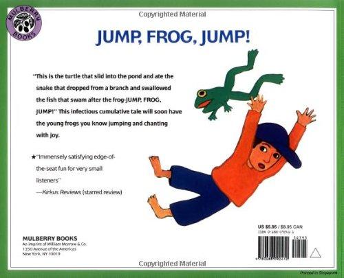 Jump, Frog, Jump!: Robert Kalan, Byron Barton: 9780688092412 ...