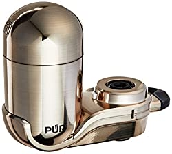 Pur New Advanced Faucet Water Filter Stainless Steel Style Fm-4000b