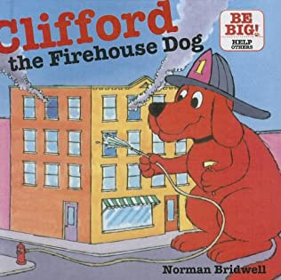 book cover of Clifford The Firehouse Dog