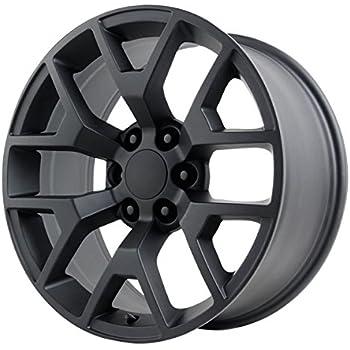 Amazon Com Wheel Replicas V1176 Wheel With Satin Black